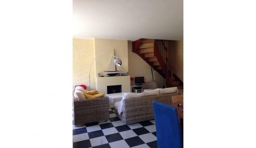Appartement Duplex avec jardin, à 200m de la plage - Saint-Malo - Daire