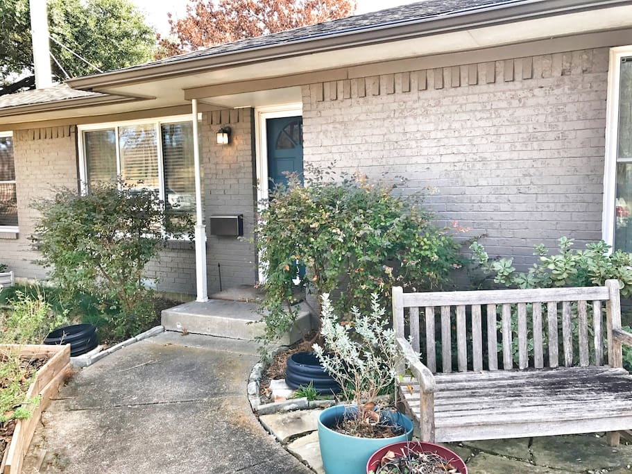 Our home in Lakewood--just a park away from White Rock Lake--awaits you!