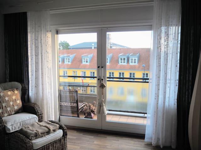 Cozy studio with balcony, 15 min. to CPH center