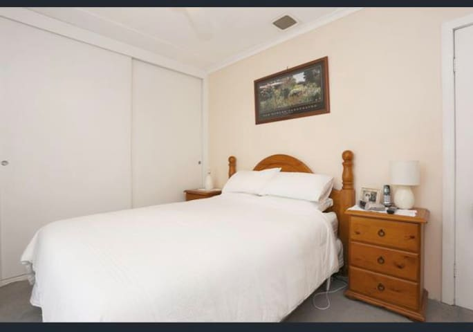 Quiet comfortable home  Room in great location