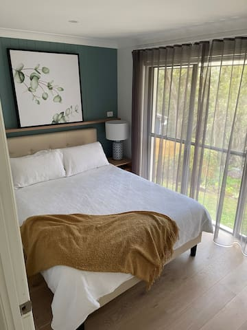 Bedroom 2 - Another bedroom where you can watch the sun rise through the bushland