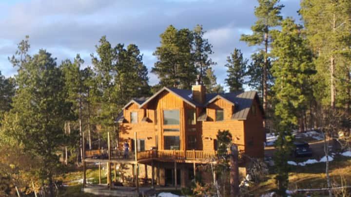 Luxury Cabin in Black Hills SD, Terry Peak,Deadw
