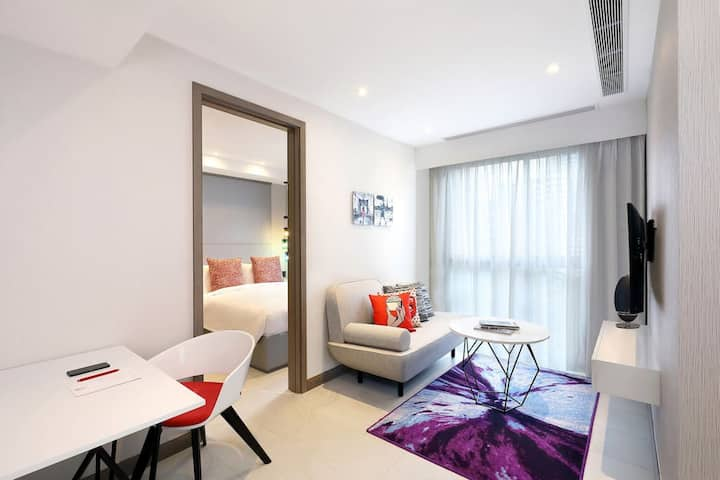 One Bedroom Superior · One Bedroom  Superior at Oakwood Studios Singapore