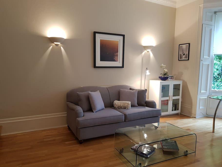 spacious drawing room
