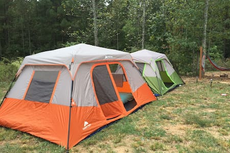 Furnished Tent Camping in Dahlonega - Dawsonville