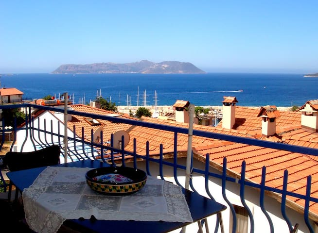 Lovely flat with an amazing seaview - Kaş - Appartement