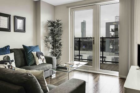 The Riverside Luxury Apartment, Manchester - Salford - Apartment