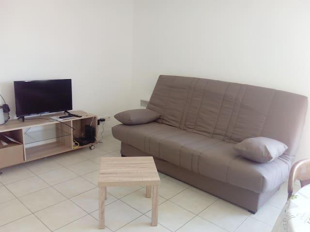location d'un studio pour 2 personnes