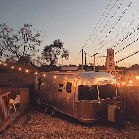 Modern, Minimal, Chill Airstream in East Austin