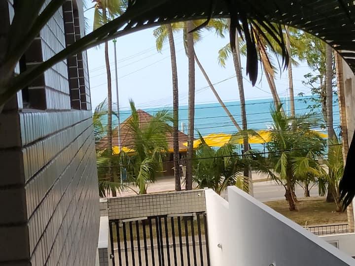 Apartamento 2/4, Beira mar de Ponta Verde.