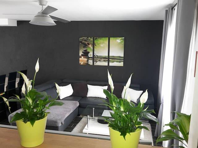 Maison contemporaine à la campagne - Malesherbes - บ้าน