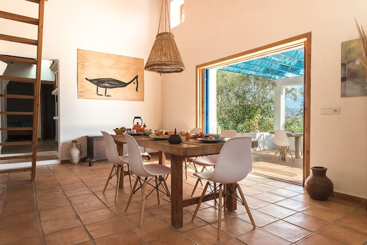 Great space in Formentera style | Can Gall House