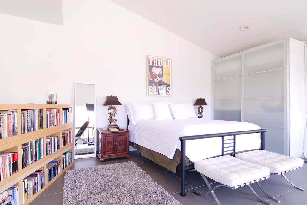 Your room, spacious, bright, and minutes to everything Hollywood has to offer