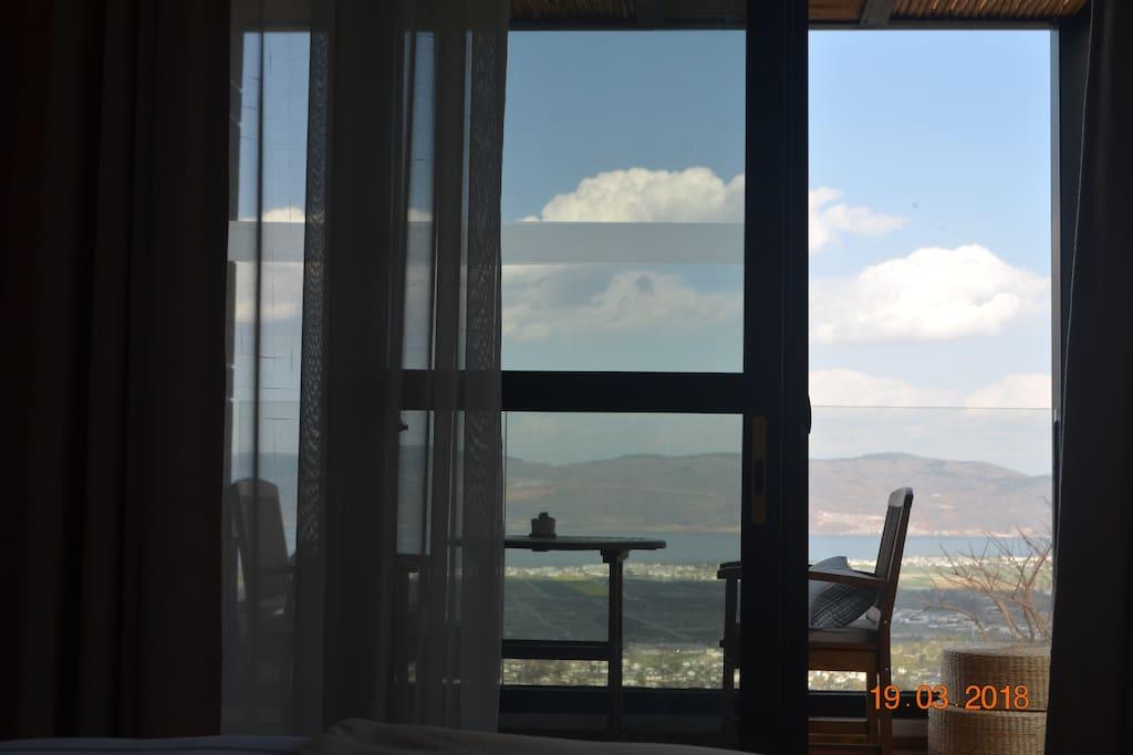 海景大床房阳台