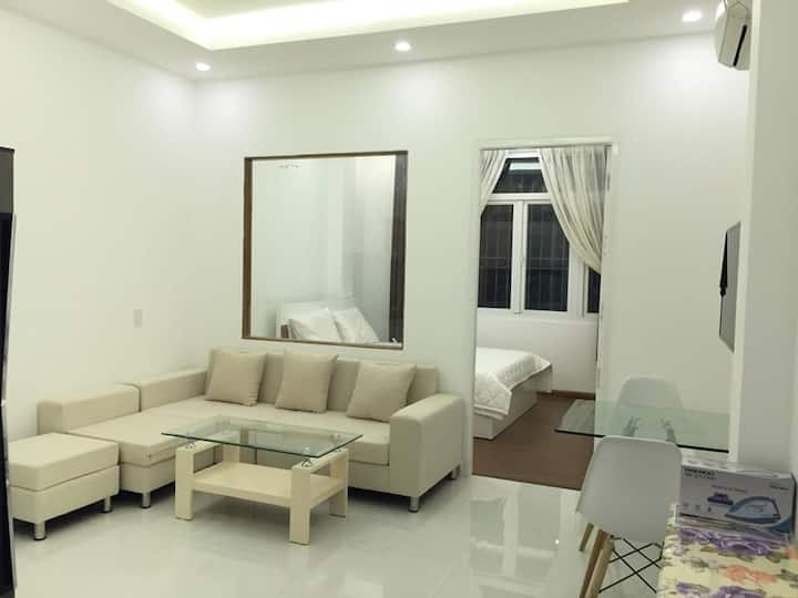 1BR Serviced Apt on Nguyen Trai, dist.1 $650/month