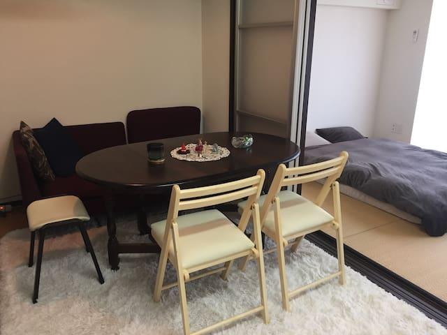 Great Tokyo view room with Tatami! 都心の眺めのいいお部屋貸出! - Chūō-ku
