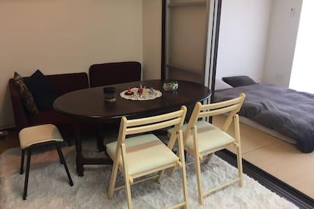 Great Tokyo view room with Tatami! 都心の眺めのいいお部屋貸出! - Chūō-ku - Daire