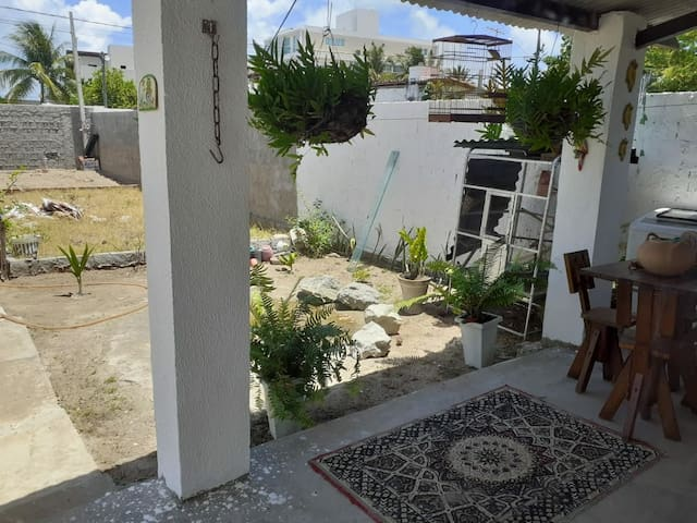 Um terraco maravilhoso para vc usufruir