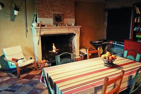 Grande maison de campagne équipée - Cardan