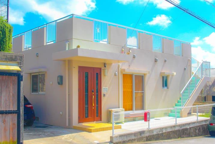 ☆NEW OPEN☆沖縄の絶景Ocean View 豪華インテリア、一軒屋貸切!海中道路ビーチへGO