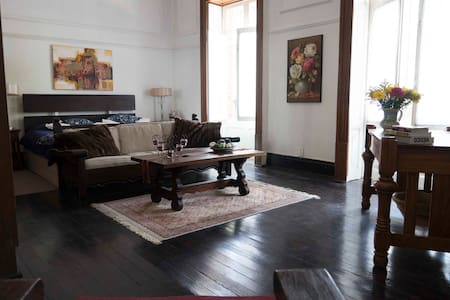Beautiful Colonial Oasis Home Room - Mexico City