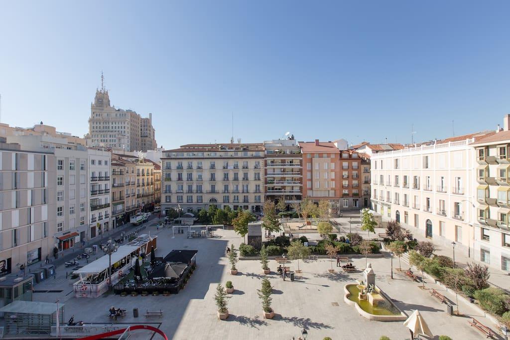 Habitaci n confortable y centrico apartamentos en - Apartamentos de alquiler en madrid ...