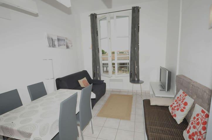 Appartement dans résidence avec piscine - La Couarde-sur-Mer - Apartment