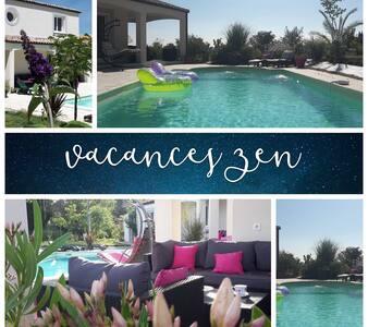 Superbe villa près de Carcassonne. - Carcassonne