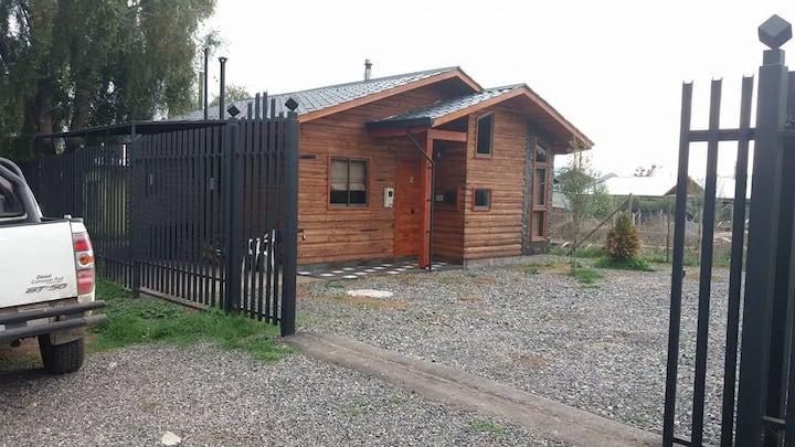 Cabañas San Fabian casa 2