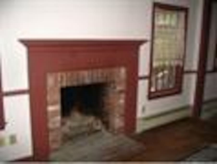 One of 6 fireplaces