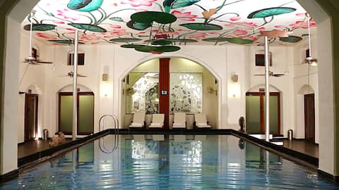 Modern heritage grand suite