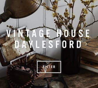 VINTAGE HOUSE DAYLESFORD - SLEEPS 2 - Hepburn Springs