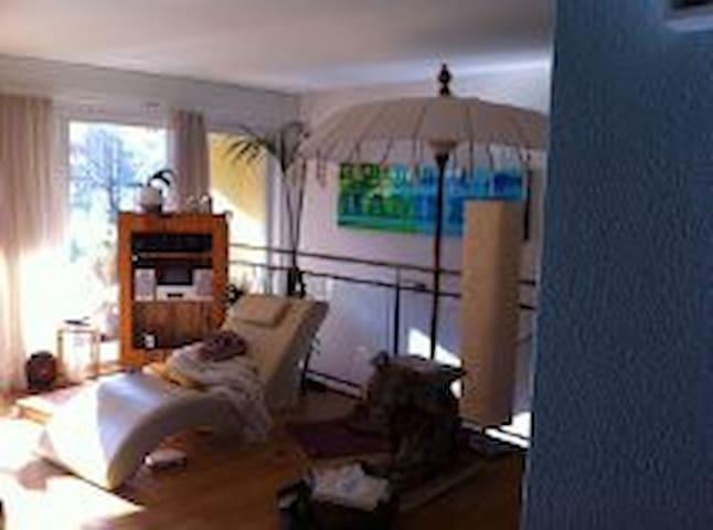 2-stöckige Gartenwohnung, 6.5 Zimme - Lucerna - Apartament