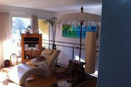 2-stöckige Gartenwohnung, 6.5 Zimme - Lucerna - Pis