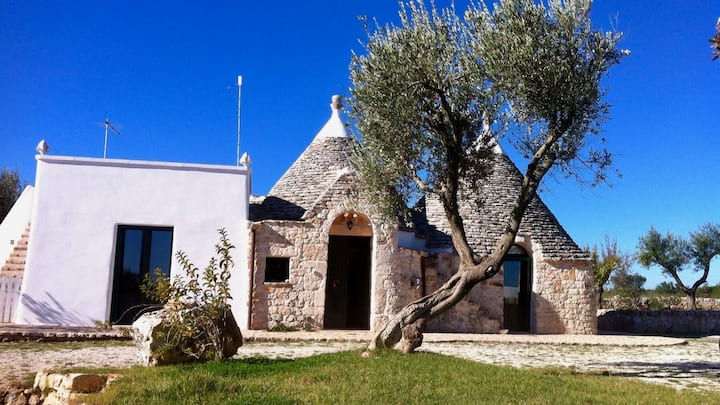 Amazing Trullo with garden and private pool