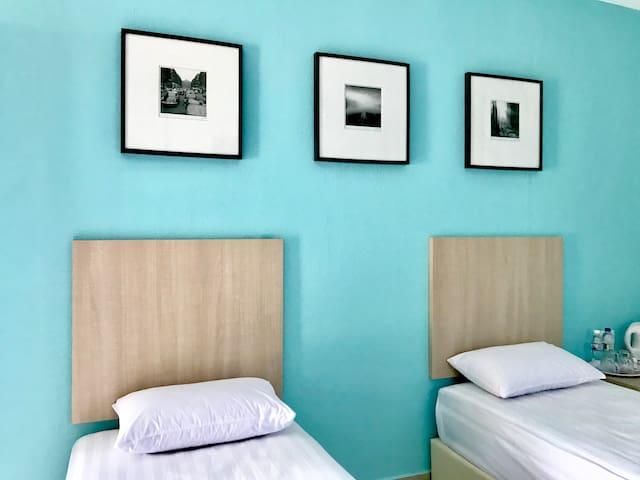 Sri Bayu Superior Twin Room.2 - Beachview