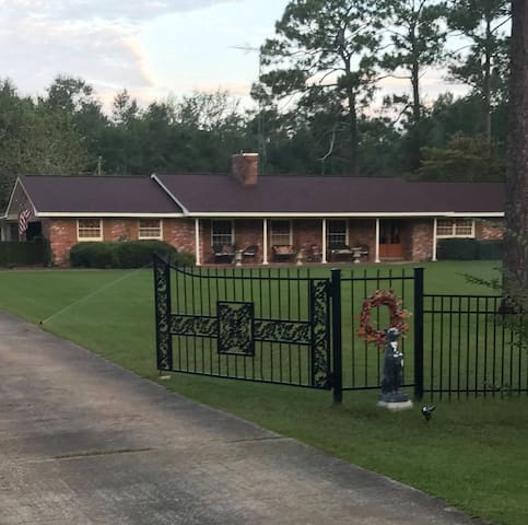 Spacious Gated Country Estate Home