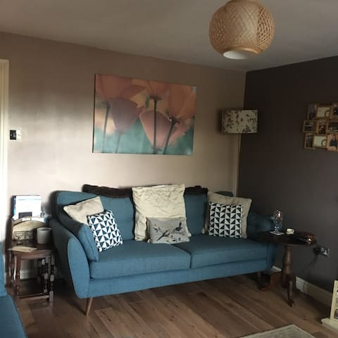Derbyshire homely double room with breakfast