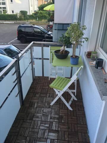 Komplette Wohnung zentrumsnah FR-Herdern