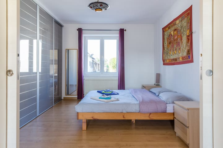 Appartement familial Colmar maison avec jardin - Sundhoffen