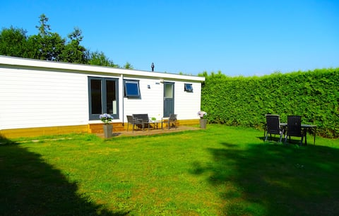 Beautiful spacious chalet with 3 bedrooms near the coast