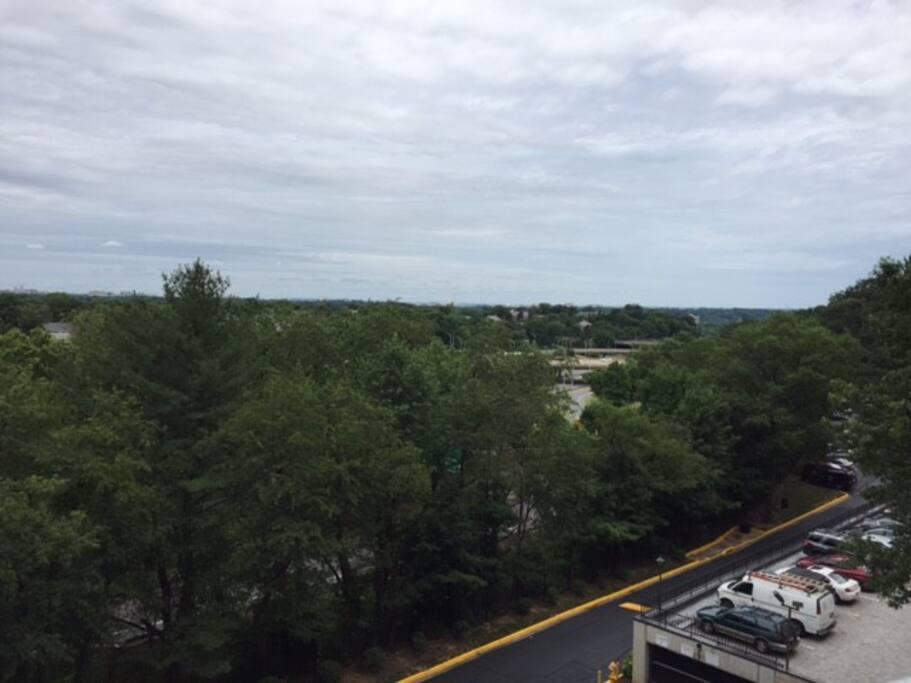 6th floor balcony view