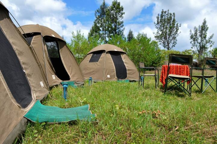 Campsite in Kigali