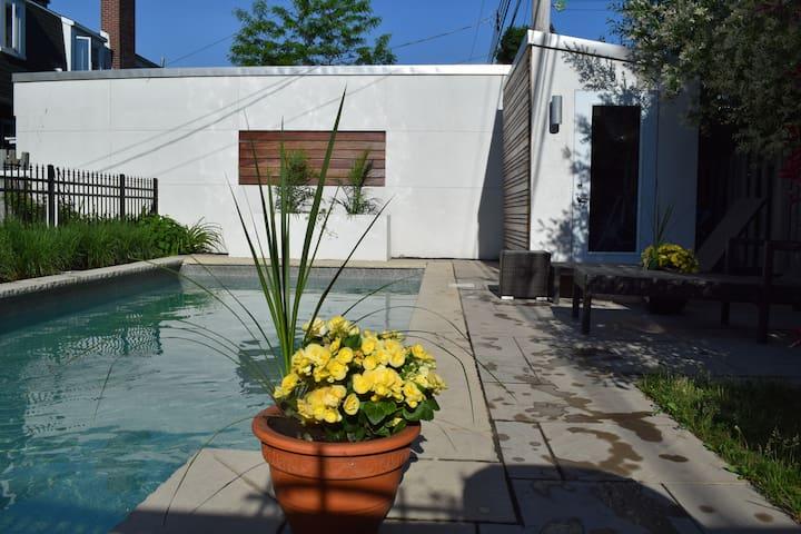 Superbe maison avec piscine pour une famille ! - มอนทรีออล - บ้าน