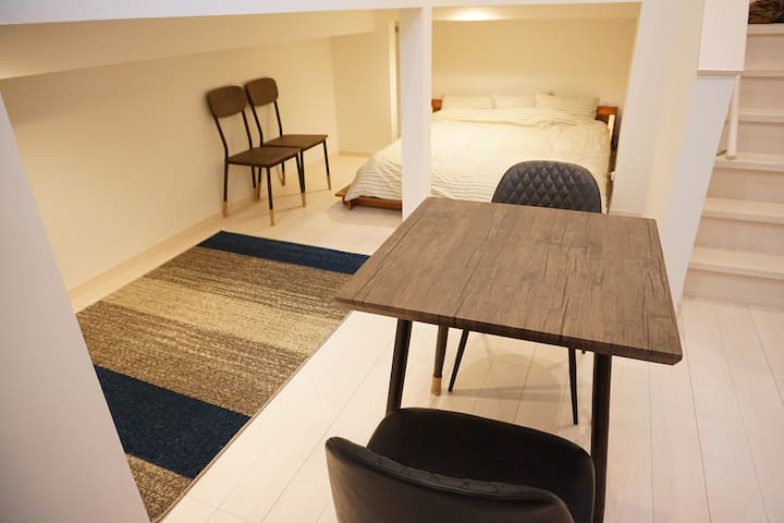 ☆205☆Close to Kumamoto Sta.All New and unique room