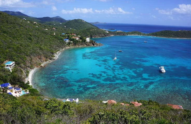Wake up to this view on St. John