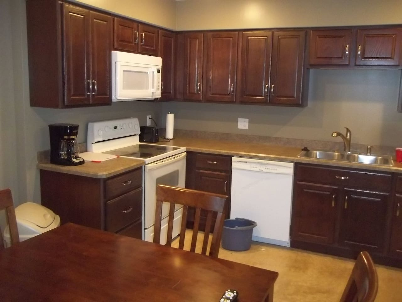 all dishes, pots, pans utensils are included.