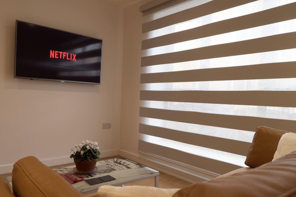 50-inch Flatscreen Smart TV
