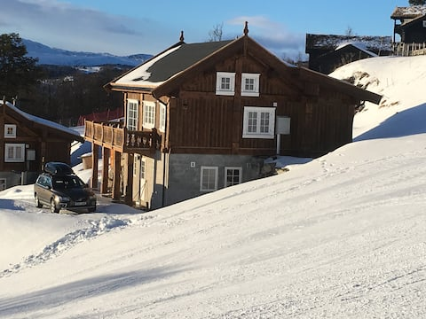 New house in the middle of the ski slope, Rauland