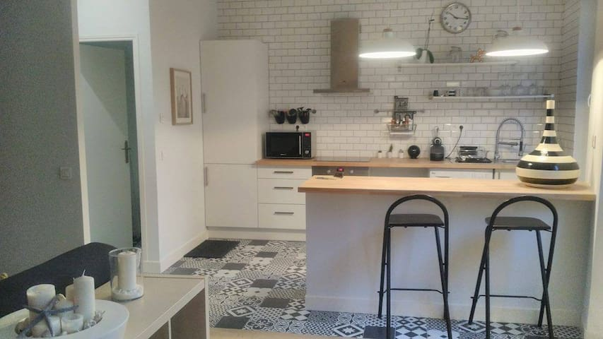 New and modern apartment in city center - Marseille - Leilighet